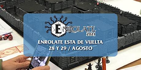 Enrolate 2021 (Domingo) tickets