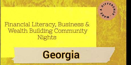 Financial Literacy, Business & Investing Virtual Community Night (Georgia) tickets