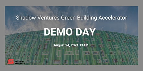 Green Building Accelerator Demo Day tickets