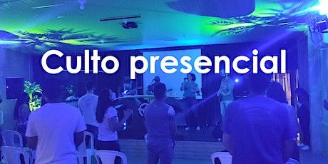 Culto de Jovens Presencial 07/08/2021 tickets