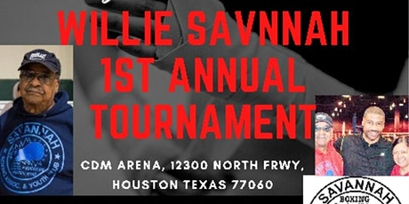 Willie Savannah Memorial Boxing Tournament tickets