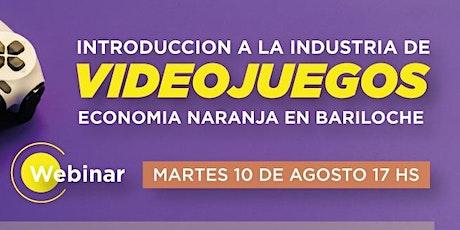 Introducción a la Industria de los Videojuegos en Bariloche entradas