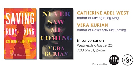Silent Book Club and HTP Books present Catherine Adel West & Vera Kurian tickets