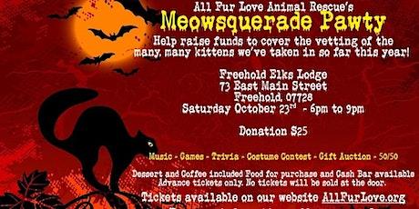 Meowsquerade Pawty tickets
