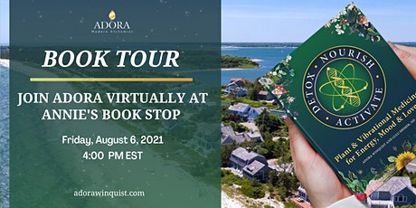 VIRTUAL Detox. Nourish. Activate. Tour with Annie's Book Stop tickets