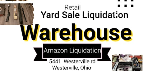 Amazon Blow out- Liquidation Sale tickets