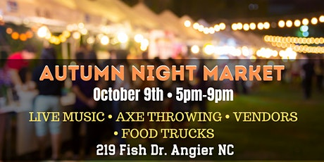 Autumn Night Market tickets