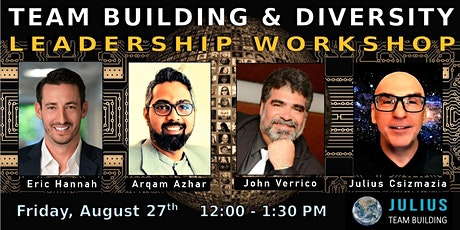 LEADERSHIP TEAM BUILDING & DIVERSITY WORKSHOP biglietti