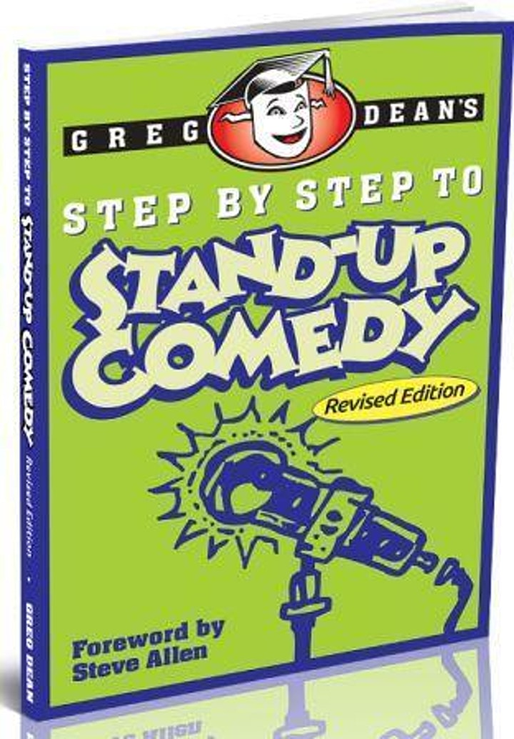 Greg Dean Presents: PROFESSIONAL STAND UP COMEDY PERFORMING CLASS image