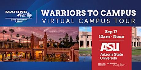 Warriors to Campus- Arizona State University tickets