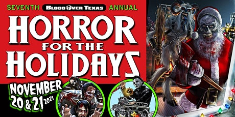 7th Annual HORROR FOR THE HOLIDAYS tickets