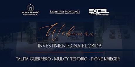 Webinar: Investimento Na Florida bilhetes