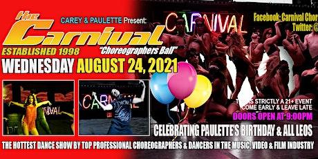 Carnival Choreographer's Ball Los Angeles tickets