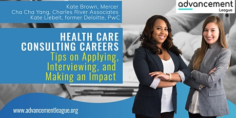 Healthcare Consulting Careers: Applying, Interviewing, Making an Impact tickets
