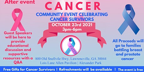 Annual  Breast and Prostate Cancer Event. (Cancer Survivors Celebration) tickets