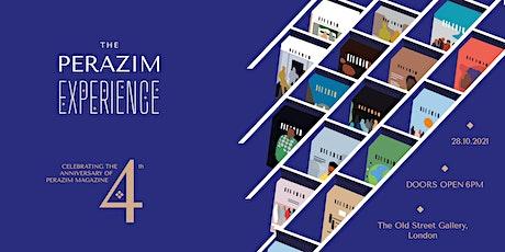 The Perazim experience - 4th Anniversary of Perazim Magazine tickets