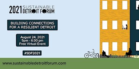 Sustainable Detroit Forum: Community Updates tickets