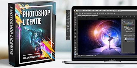 Adobe Photoshop nu € 148 inclusief Windows software en training met docent tickets