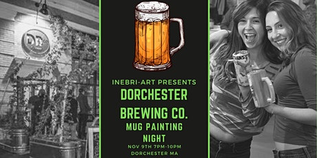 Beer Mug Painting at Dorchester Brewing Co. tickets