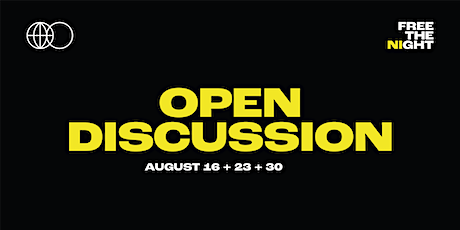 Free The Night Open Discussion: Promoters and Event Organisers tickets