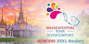 Wasserfestival Tour Schweinfurt
