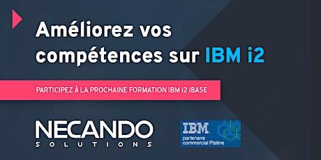 Formation IBM i2 iBase Utilisateur (4 jours) billets
