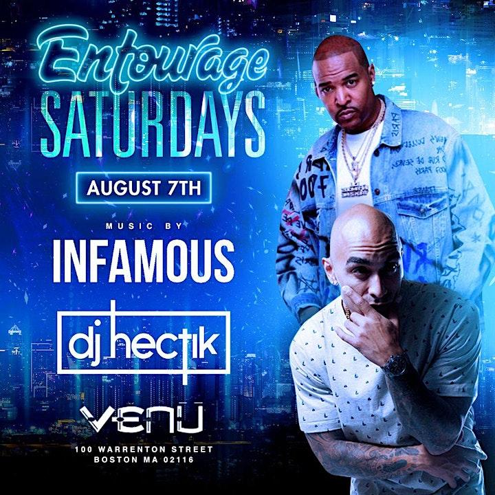 Entourage Saturdays & Spicy Saturdays at VENU BOSTON image
