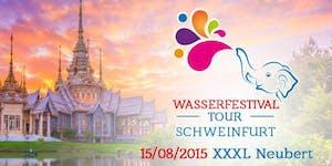 Wasserfestival Tour Schweinfurt - PayPal Zahlung