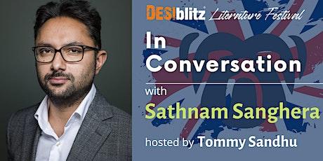 DESIblitz Literature Festival  - In Conversation with Sathnam Sanghera tickets