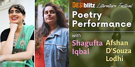 DESIblitz Literature Festival  -  Poetry Performance tickets