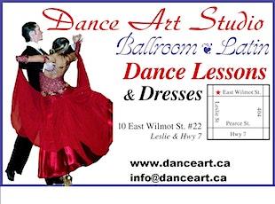 Salsa/bachata latin, group dance class -beginner/intermediate level tickets
