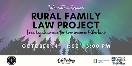 Rural Family Law Project (for Northern Alberta) tickets