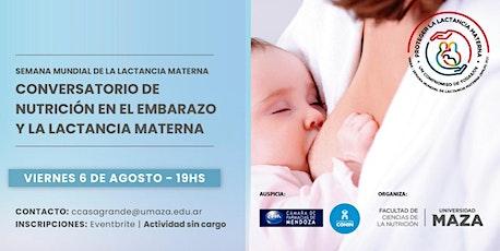 Conversatorio de nutrición en el embarazo y la lactancia materna entradas