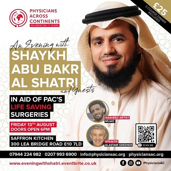 An Evening with Shaykh Abu Bakr Al Shatri & Guests image