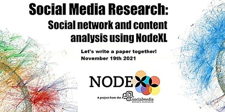 Workshop on Using NodeXL to Develop a Research Paper tickets