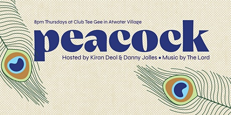 Peacock: A Comedy Show at Club Tee Gee tickets