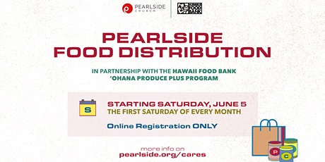 Pearlside Food Distribution (August) tickets
