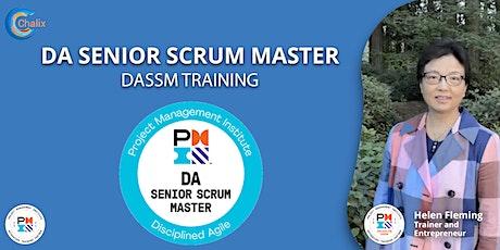 Disciplined Agile® Senior Scrum Master(DASSM) tickets