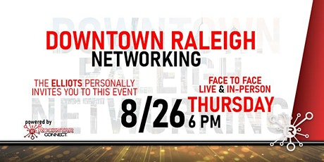 Free Downtown Raleigh Rockstar Connect Networking Event (August) tickets