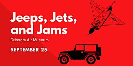 J3 - Jeeps/Jets/Jams - Registration tickets