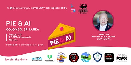 Pie and AI:Colombo - Breaking into AI & Data Science tickets