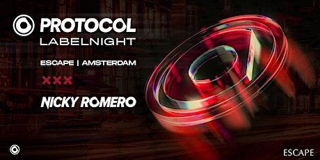 Nicky Romero presents Protocol Label Night tickets
