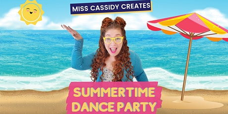 Free, Online Summertime Dance Party with Miss Cassidy Creates! biglietti