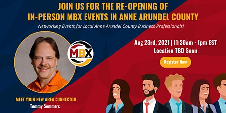 Anne Arundel County In-Person Networking Luncheon tickets