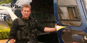 SAS Hero Turned Bestselling thriller writer Chris Ryan...