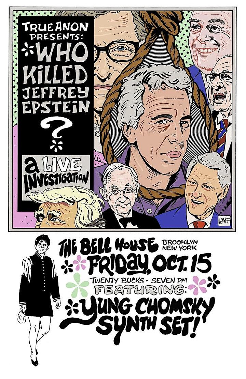 TrueAnon Presents: Who Killed Jeffrey Epstein? image