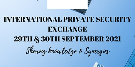 International Private Security Exchange (English) tickets