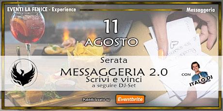 Messaggeria 2.0 biglietti