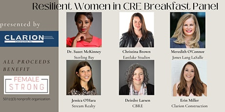 Clarion presents Resilient Women in Commercial Real Estate Breakfast Panel tickets