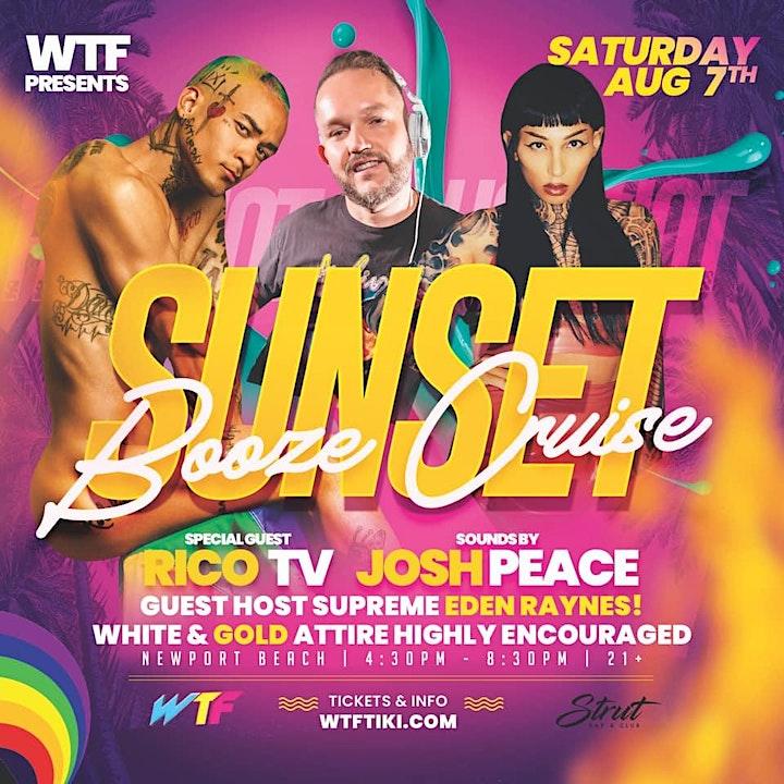 LGBTQ+ Sunset Booze Cruise with DJ Josh Peace LIVE! image